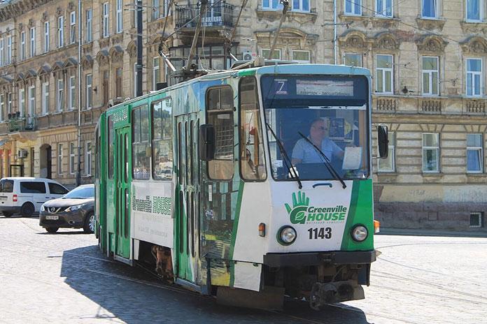 Tramwaj we Lwowie